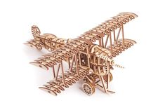 You see examples of man's mastery of woodworking everywhere. From mailbox posts to pieces of furniture and art to full buildings, the power to use wood to create is a reason why civilizatio 3d Puzzles, Wooden Puzzles, Balsa Wood Models, Wooden Model Kits, Creative Thinking Skills, Making Wooden Toys, Airplane Toys, Games For Teens, Puzzle Toys