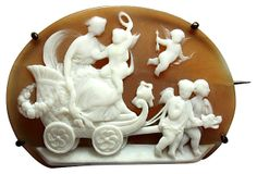 Antique Figural Cameo Brooch on OneKingsLane.com