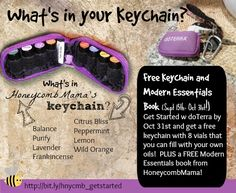 HoneycombMama: Oil Slick-Tip of the Day: What's in a Keychain?