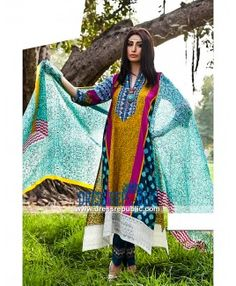 Essencia Lawn 2015 Designer Pakistani Clothes Online