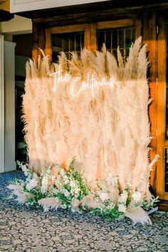 Floral Wedding, Fall Wedding, Wedding Ceremony, Our Wedding, Dream Wedding, Wedding Mood Board, Here Comes The Bride, Wedding Signs, Wedding Decorations