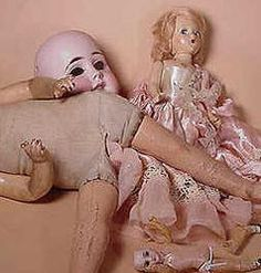 Our eight part series on Doll Conservation and Repair will help you fix, repair, and beautify all your less-than-perfect doll finds. Whether you are repairing or preserving Barbies, antique dolls, or composition, this series will help you!