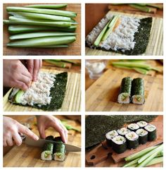 Sushi selber machen - [ESSEN & TRINKEN]