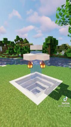 Minecraft Farm, Minecraft Mansion, Minecraft Cottage, Easy Minecraft Houses, Minecraft House Tutorials, Minecraft Plans, Minecraft Construction, Amazing Minecraft, Minecraft Tutorial