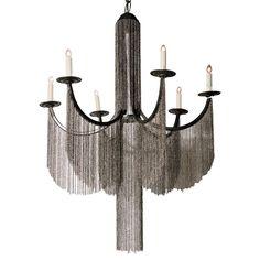 Donny Osmond Home 6 Light Candle Chandelier
