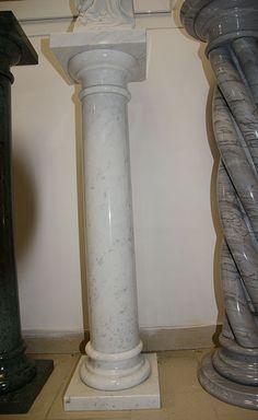 Colonna in marmo bianco Carrara - Le Pietre srl