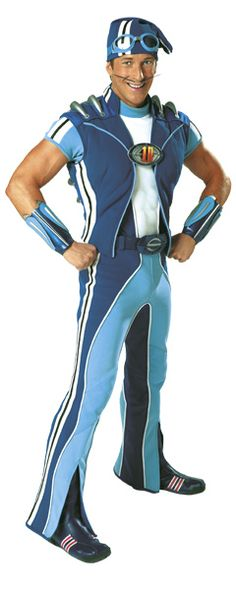 Sportacus! Does this make me creepy?