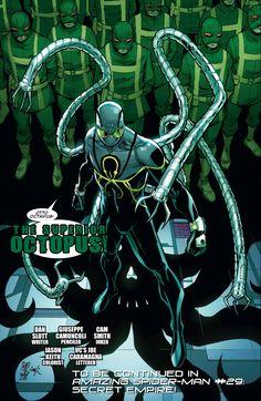 Marvel The Amazing Spider-Man Rise of The Superior Octopus Marvel Comics Art, Marvel Heroes, Marvel Avengers, Spiderman Art, Amazing Spiderman, Marvel Comic Character, Marvel Characters, Comic Books Art, Comic Art