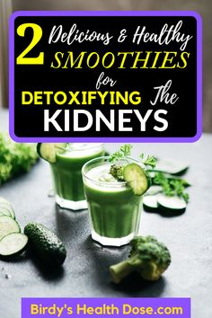 To have a healthy life, it is essential to take care of your body and to do some cures for the detoxification of the kidneys and bladder. With the necessary ingredients to prepare the following 2 smoothies, you will take care of your kidney health in a healthy way.