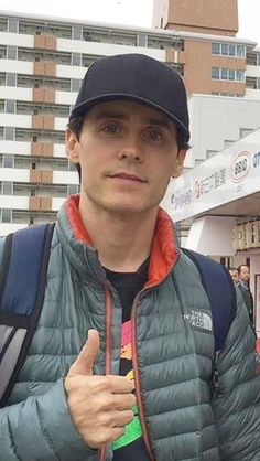 Jared in Japan...miss him.