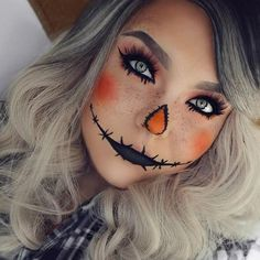 Makeup for Halloween can save the day when your costume is not ready at all and the holiday is knocking on your door. We suggest you to look at these few easy makeup ideas to make your Halloween unforgettable.