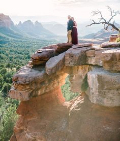 Sedona Engagement Photos || Jane in the Woods Sedona Wedding Photographer