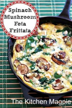Fritatta's lessen my Mother's Guilt during the week. Even I can manage to make them on school days!