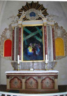 Todbjerg Kirke altertavle, 'Julenat' af Sven Havsteen-Mikkelsen 1979