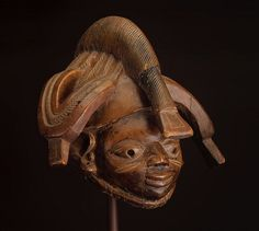 Yoruba Gelede Mask, Egbado - Ilaro, Nigeria