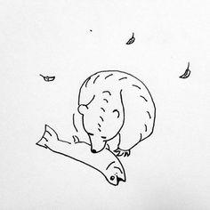 BEAR  #쓸쓸하고배고픈곰  #곰 #드로잉 #일러스트 #illustration #drawing