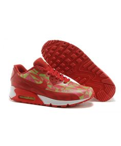 Nike Air Max 90 Ice Mens Red Green White Trainer