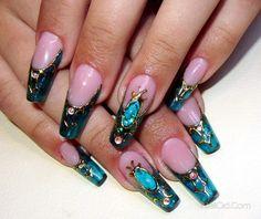 жидкие камни на ногтях - Поиск в Google