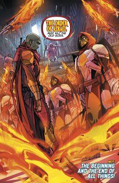 "Comics and nothin' but — Justice League Odyssey - ""Ghost Sector V"". Azrael Dc Comics, Marvel Comics, Comic Books Art, Comic Art, Book Art, Comic Character, Character Design, Lego Movie 2, Dc Comics Characters"