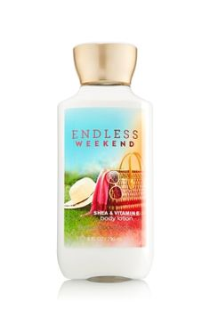 Endless weekends, Bath and body works new sent 5/14 spells a lot like Carried Away, it smells good i just dont like either of them on me.