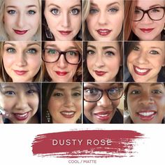 Dusty Rose- Cool Tone, Matte Finish