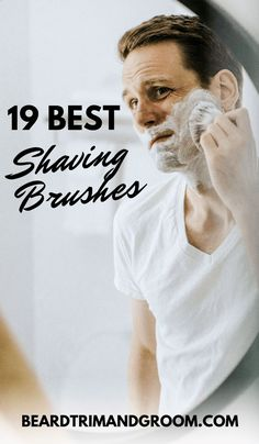 A good shaving brush will cover your face with a thicker lather, and give you a smooth shave without irritation. Here is a look at 9 of the best shaving brushes we have selected for you. Shaving Tips, Wet Shaving, Shaving Products, Best Safety Razor, Beard Accessories, Badger Shaving Brush, Beard Grooming, Celebrity Travel, Beard Care