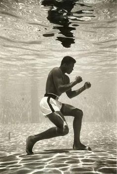 Float like a butterfly sting like a bee! - Mohamad Ali
