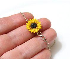 Jewellery Uk, Gold Jewelry, Fine Jewelry, Jewelry Making, Unique Jewelry, Fashion Jewelry, Sunflower Jewels, Diy Jewelry Tutorials, Bridesmaid Bracelet