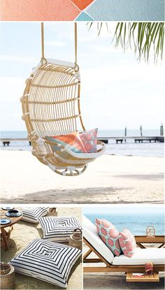 "Coastal Style: Preview ""Outdoor Beach Chic"""