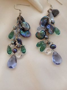 Hey, I found this really awesome Etsy listing at https://www.etsy.com/listing/182823744/chandelier-earring-keshi-earring