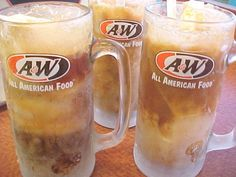 Diet Root Beer Float - another one for hubby.
