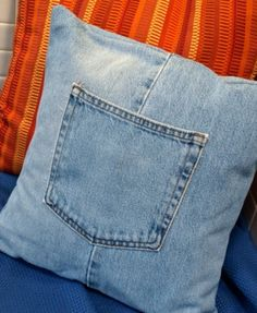 diy from old jeans 7 21 Cute and Clever Things To Make From Old Jeans
