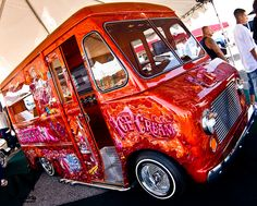 Ice cream truck...we are so doing this!