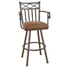 "Callee Arcadia 34"" Swivel Bar Stool Frame Finish: Matte Black, Upholstery: Ford Red"