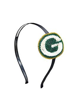 NFL Green Bay Packers The Grace Collection Sequins and Beads Horseshoe Hairband, 6 x 5 x 2.21-Inch, Green aminco http://www.amazon.com/dp/B00NBNP9T0/ref=cm_sw_r_pi_dp_KVvfvb127N2Q8