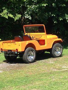 Everett Cole's 1966 CJ-5 Jeep