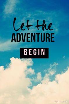 Let your adventure begin
