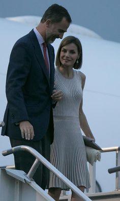 King Felipe and Queen Letizia visit Mexico