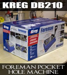 My Thoughts on the new Kreg Foreman Pocket-Hole Machine // by Jay at Jay's Custom Creations