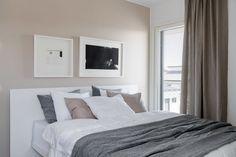 makuuhuone kastelli viva Curtains, Furniture, Home Decor, Bedrooms, Blinds, Decoration Home, Room Decor, Bedroom, Home Furnishings