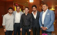 Bollywood superstar King Khan at North India's Biggest Multiplex To Promote His Movie FAN