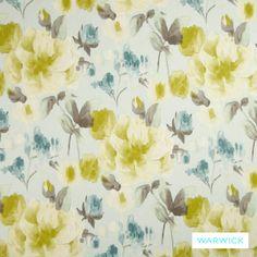 Warwick Cornucopia Watercolour Seaspray | Ideal Drape Makers