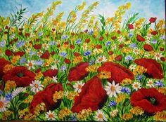 GALERIA PALOMO MARIA LUISA: FELICIDAD..... Painting, Art, Painted Flowers, Canvases, Happiness, Art Background, Painting Art, Kunst, Paintings