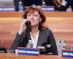 Looking good! Susan Sarandon is carefree at The Night Of Too Many Start Live Telethon  in ...