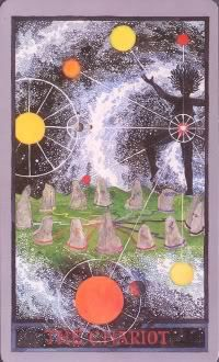 The Chariot - Wheel of Change Tarot Tarot Card Decks, Tarot Cards, House Of Cards, Deck Of Cards, The Chariot Tarot, Accurate Tarot Reading, Play Your Cards Right, Tarot Major Arcana, Oracle Cards