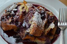 Recipe~ Blueberry Almond French Toast Casserole