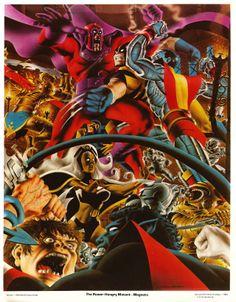 Marvel Super Hero Portfolios: The Uncanny X-Men art by John Byrne, Steve Fastner and Rich Larson