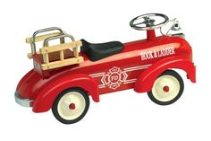 CHARM COMPANY SPEEDSTER FIRE PEDAL TRUCK