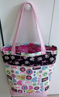 Free Tote Bag Pattern - The Fancy Shopper Bag