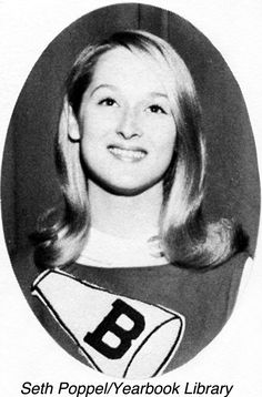 Meryl Streep As A Cheerleader
